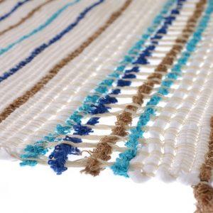 Curtain ajour needlework